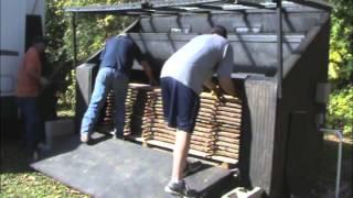 Logs to Lumber 2-Kiln Drying in a Virginia Tech solar kiln