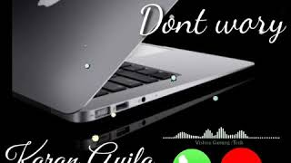 Dont Worry Song Ringtone || Karan Aujla Ringtone Mp3