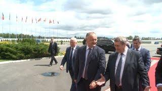 Президент Молдовы Игорь Додон прибыл с рабочим визитом в Беларусь