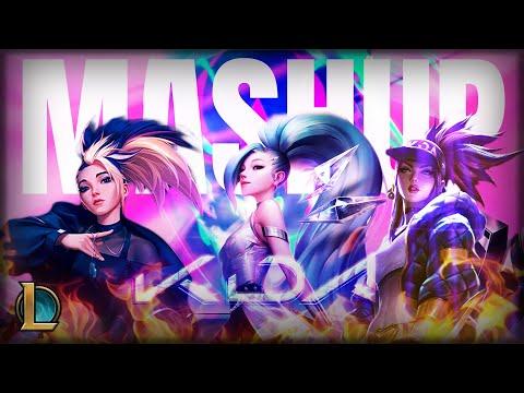 K/DA - MORE x POP/STARS x THE BADDEST ft. (G)I-DLE/Madison/Lexie Liu/Jaira Burns/Seraphine (Mashup)