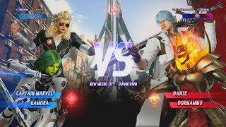 Marvel vs Capcom: Infinite - 4 High Rank Online Battles   High Level Play (1080p 60fps)