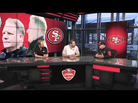 49ers Broadcast Team Interviews Coach Chip Kelly