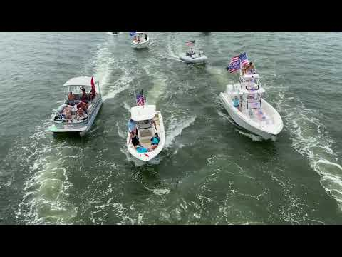 Trump Boat Parade Englewood Fl 2020 Part 2 - YouTube