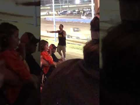 Crazy guy at terra haute action track