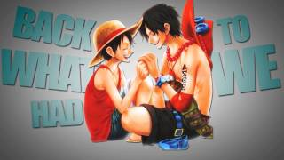 axs ☠ ps partners in crime ace x luffy happy birthday lu