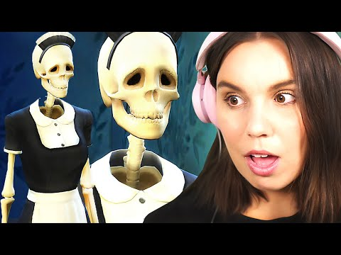 Bonehilda is not quite right... The Sims 4 Paranormal Stuff - part 2