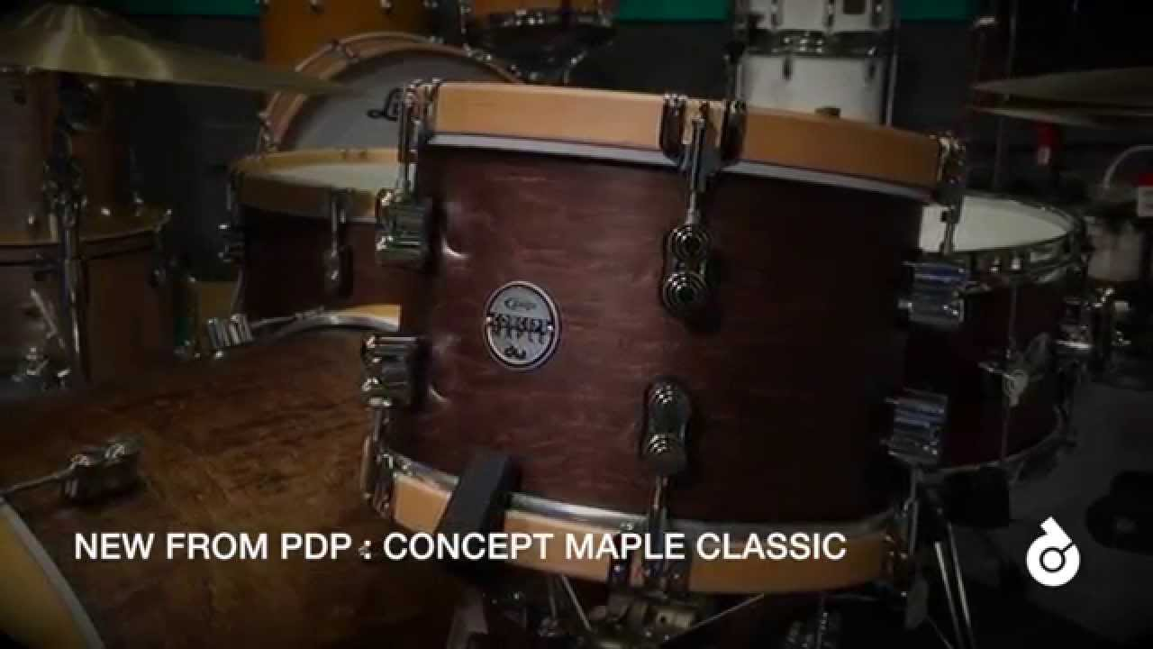 pdp concept maple classic with wood hoops youtube. Black Bedroom Furniture Sets. Home Design Ideas
