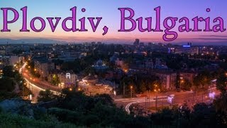 Downtown Plovdiv, Bulgaria