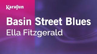 Karaoke Basin Street Blues - Ella Fitzgerald *