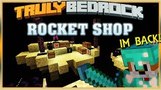 Truly Bedrock S1 EP15 Foxy lets talk... Rocket Shop ! [ Minecraft, MCPE, Bedrock Edition ]