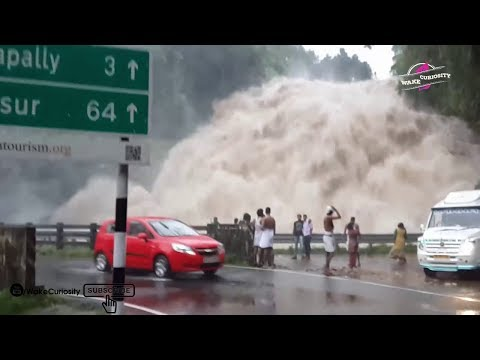 Top 5 Flash Flood Accidents Recorded on Camera