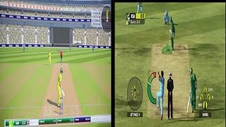Ashes Cricket 2017 Vs Ashes Cricket 2009 (Gameplay Comparison)
