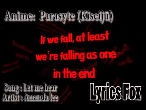 Amanda Lee (Let Me Hear) Parasyte Lyrics