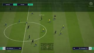 awesome goal || messi || fifa online 4