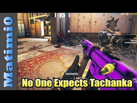 No One Expects Tachanka  Rainbow Six Siege