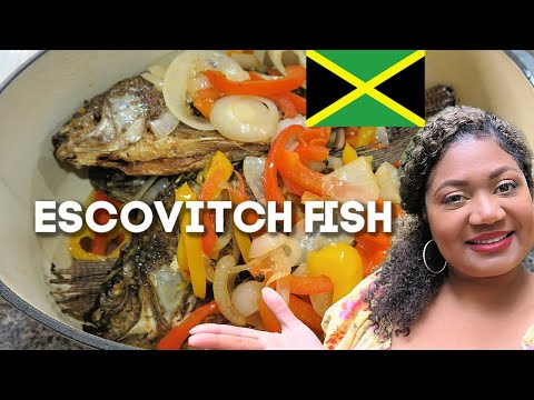how-to-make-escovitch-fish-jamaican-style-!-#escovitchfish-#friedfish-#jamaicanfood-the-real-deal-!