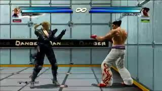 Tekken tag 2 Lili & Nina combo movie