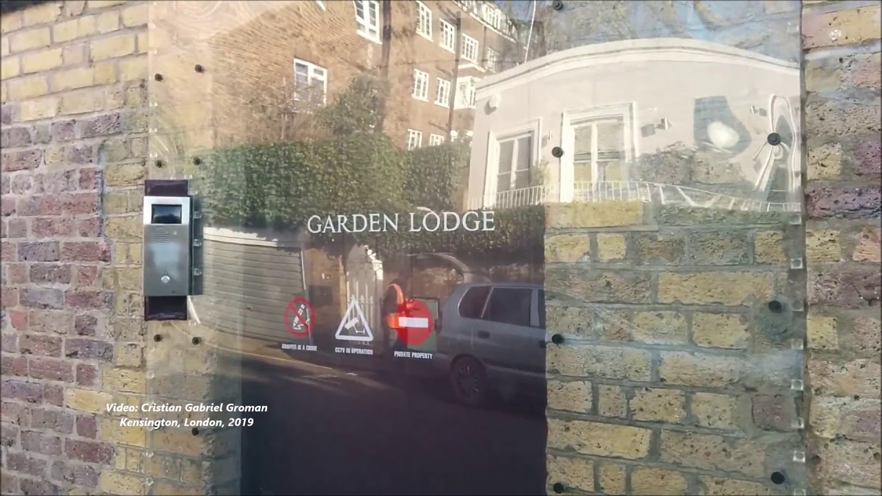 Garden Lodge , Freddie Mercury\u0027s House in London. Mary Austin, the Love of  his Life! 2019 VIDEO.