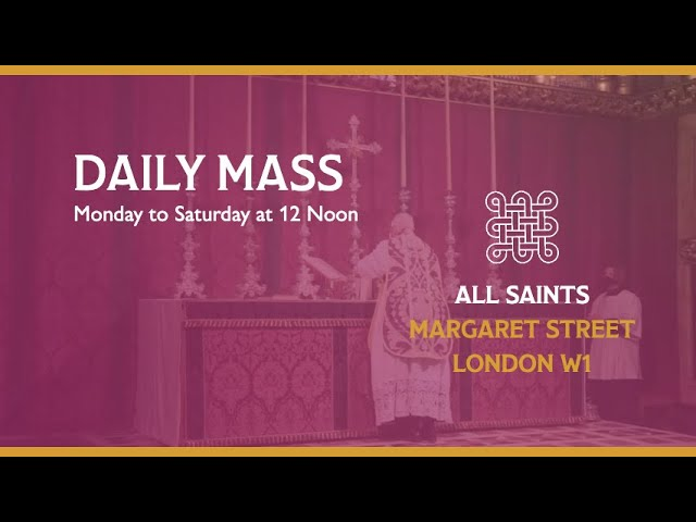 Daily Mass on the 25th February 2021