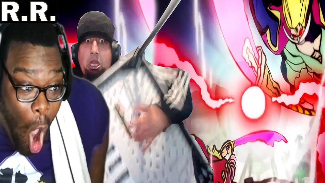 Download KingOfLightning Reacts to Uzumaki Khan Reacting to Roger Vs Whitebeard