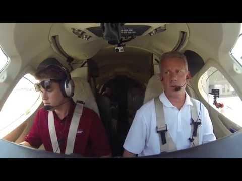 Quiet please- my Co-pilot is sleeping. Scranton in a Private Jet