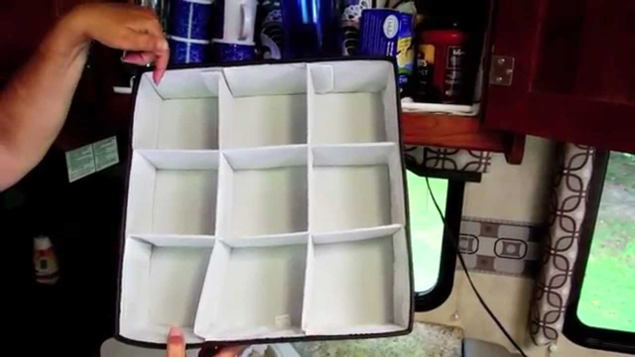 Great RV Cupboard Storage Idea - YouTube