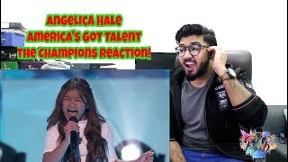 Angelica Hale Receives Golden Buzzer From Howie Mandel! America's Got Talent:The Champions Reaction!