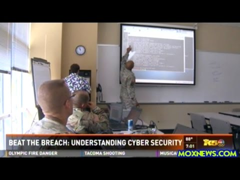 National Guard Training To Defeat Cyber Hackers