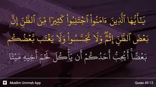 Download lagu Al Hujurat ayat 12 MP3