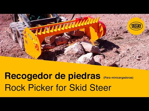 Rock Picker for Skid Steer RH eNYNSz95_5w