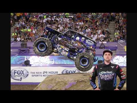 Stop Motion Monster Jam El Paso TX Racing And Wheelies Highlights | SMMJ West