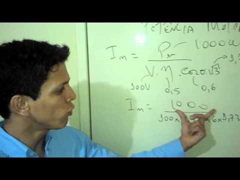Corrente Nominal do Motor Elétrico Cálculo Rápido Aprenda Fácil