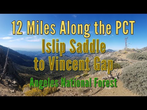 12 Miles Along The PCT - Islip Saddle To Vincent Gap - Angeles National Forest