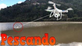 Pescando Con Un DRONE!!! (BayBaeBoy Vlogs)(Nos fuimos a pescar al lago con el drone y la lancha y paso esto!!! MAS DE BAYBAEBOY: https://youtu.be/t6slETdJIDc Mi Canal Principal: ..., 2017-03-07T02:34:43.000Z)