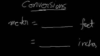 Conversion-meter to feet,inches