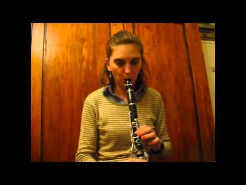 Clarinet - Abide with me