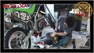 How To Replace The Mechanical Water Seal On A Dual Sport Motorcycle KLX250s