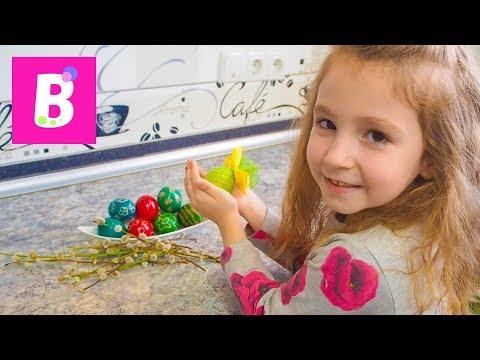 Cum vopsesti oua de Pasti   DIY how do you paint Easter eggs   Bianca Kids Show