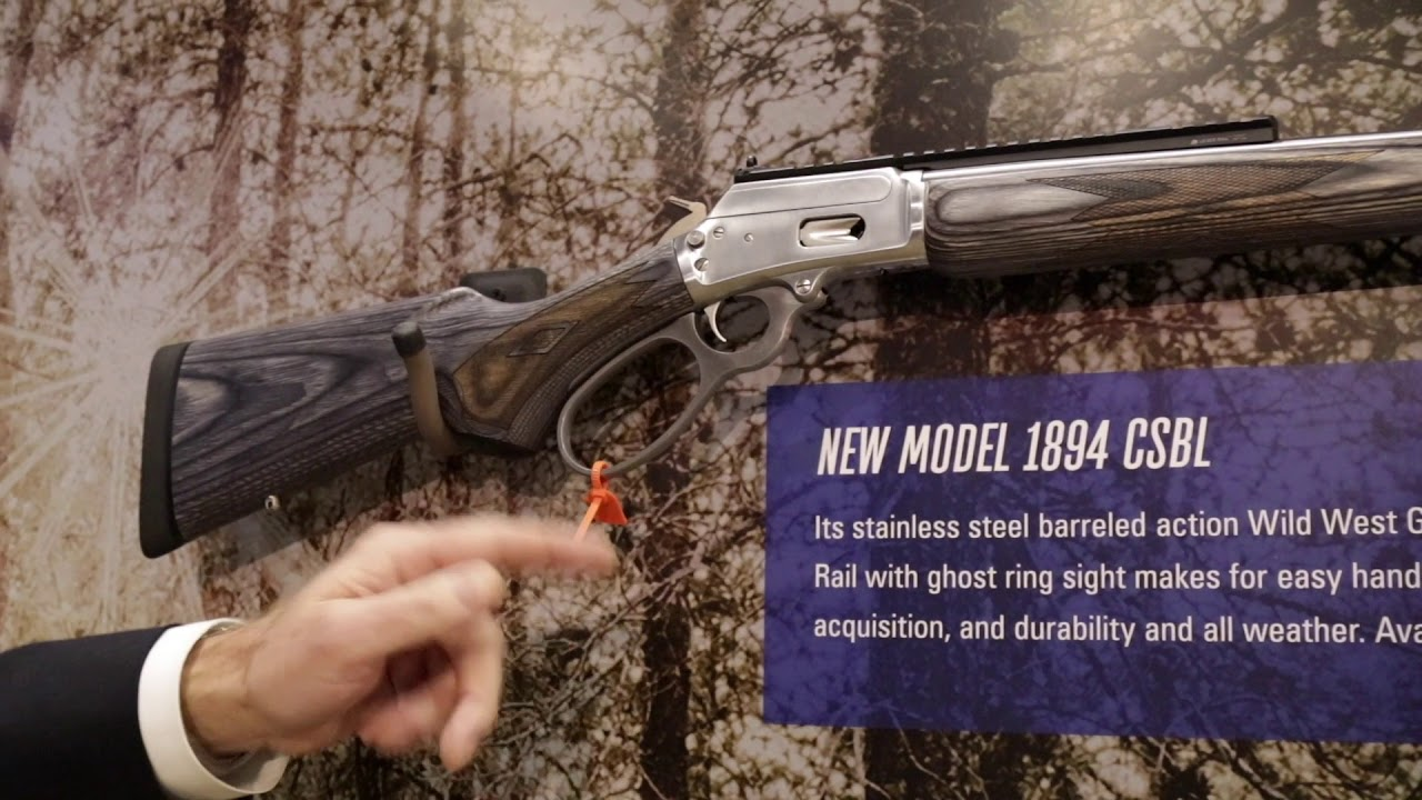 2018 Lineup of Marlin  357's at SHOT Show