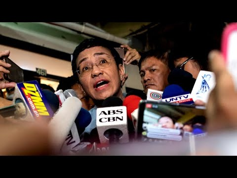 Rappler news' Maria Ressa calls for press freedom at Philippines rally Mp3