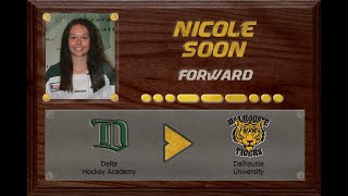 Nicole Soon - CSSHL to USports | Stand Out Sports Client Hall of Fame
