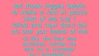 Lil Wayne ~ A millie lyrics!