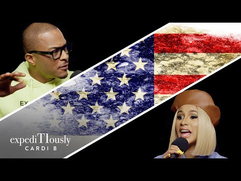 V Gomez - Cardi B and Chance The Rapper Get Political W/ TI On ExpediTIously Podcast