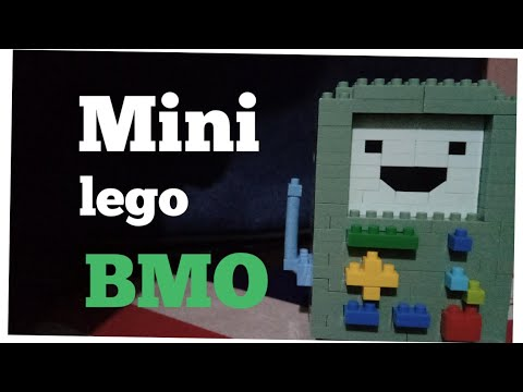 Mini Lego BMO From Adventure Time | Mini Build