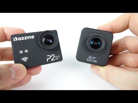 2K Gyro Action Cam Showdown -  Dazzne P2+ vs SJCAM M10+