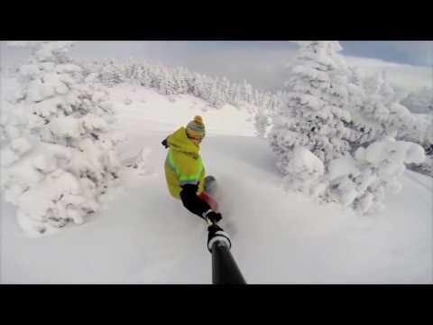 GoPro Mt Bachelor Summit Shred Kickass Video!