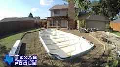 Texas Fiberglass Pools Plano Remodel BnA