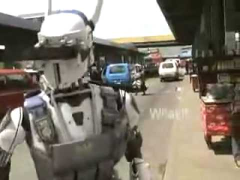 DARPA's Police Robot