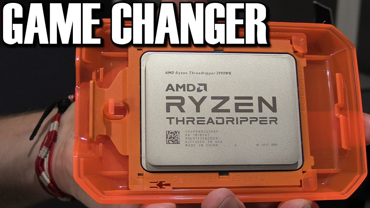 AMD Threadripper 2 2950X and 2990WX Review & Overclocking