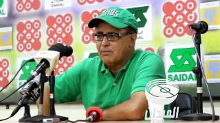 تصريح سليماني بعد فوز أولمبي المدية على نصر حسين داي